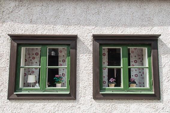 Detalle de ventana de Visby en Gotland
