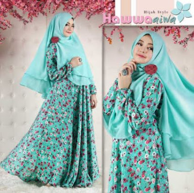 kini lebih modis dan elegan di banding dengan model busana muslim  45+ Trend Model Baju Muslim Desain Terbaik 2018