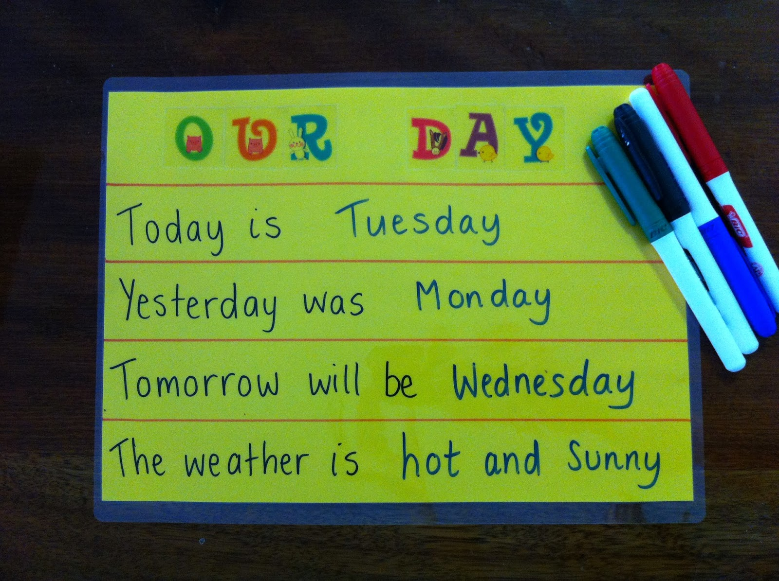Kids Activities Amp Tips 4 Everyday Learning Days Of The Week