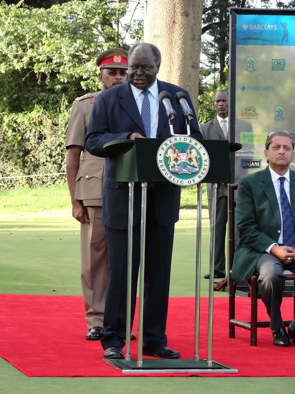 I Was Here Mwai Kibaki