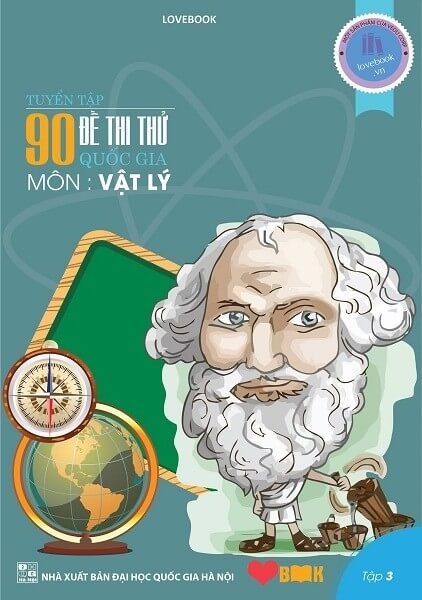 Tuyển tập 90 đề thi thử quốc gia THPT môn Vật Lý Tập 3