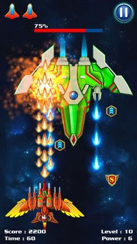 Free Download Galaxy Attack: Alien Shooter MOD APK Unlimited Money + Premium Terbaru