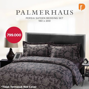 Palmerhaus Persia Sateen Bedding Set 180 X 200 cm