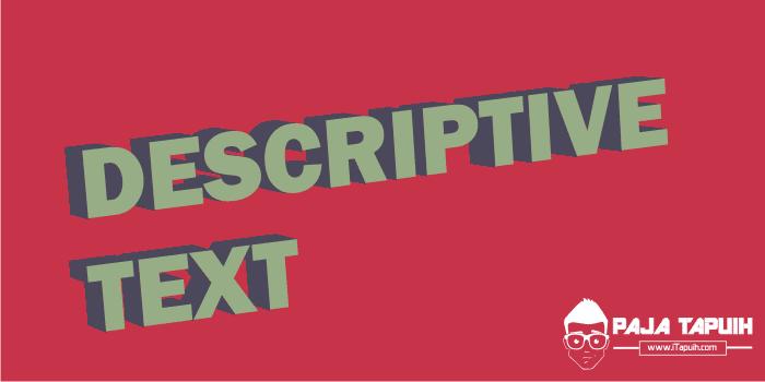 Kumpulan Soal Descriptive Text Sma Dan Pembahasan Paja Tapuih