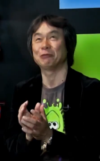 Miyamoto looking devious in a Smosh interview
