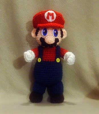 Häkelblog Täglich Neue Anleitungen Super Mario Häkelanleitung