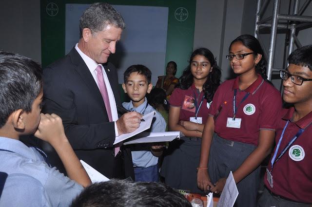 Richard van der Merwe Senior Bayer Representative South Asia interaction...