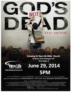 God's Not Dead (2014) – พระเจ้าไม่ได้ตาย [บรรยายไทย]
