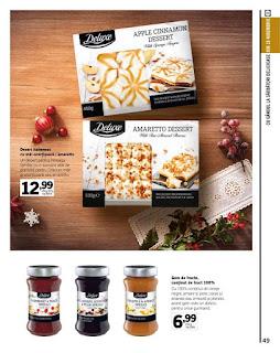 catalog lidl craciun deluxe 2018 oferte deserturi