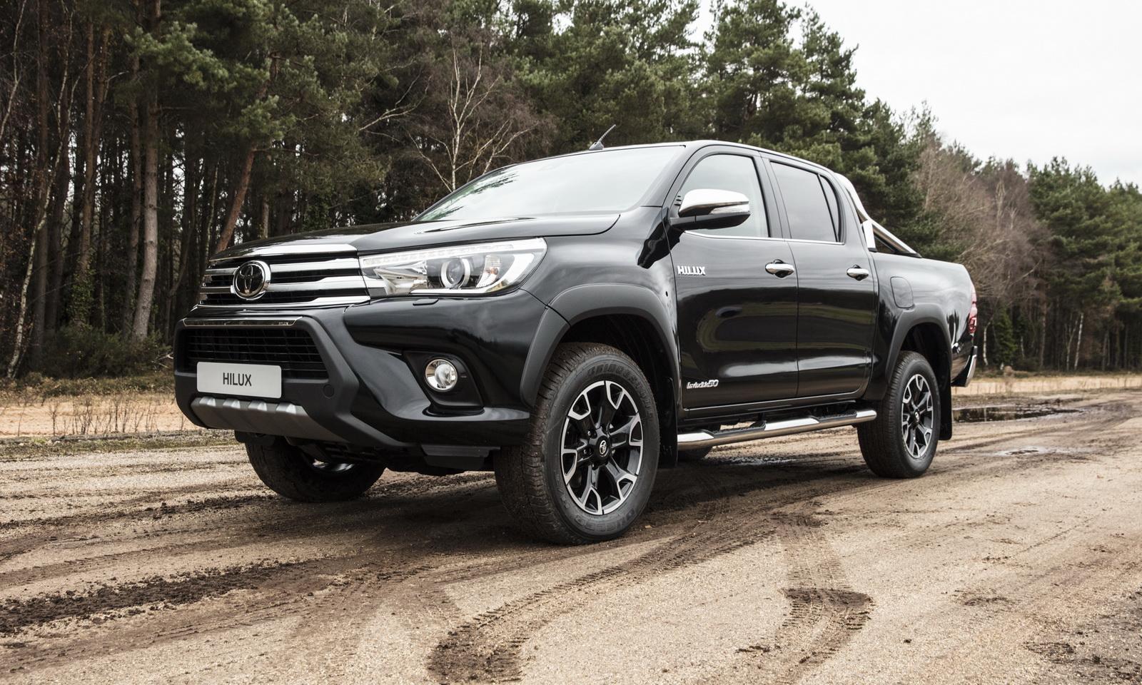 Toyota Hilux Invincible 50 Chrome Celebrates 50th