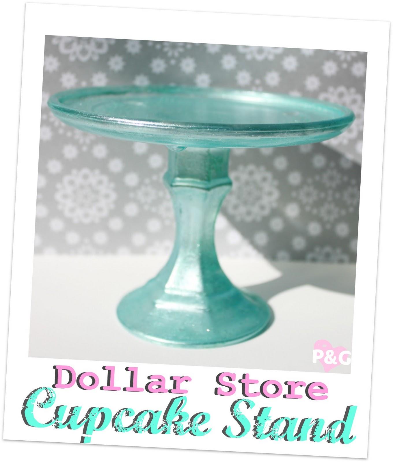 Pitterandglink My Vacation Amp A Dollar Store Cupcake Stand