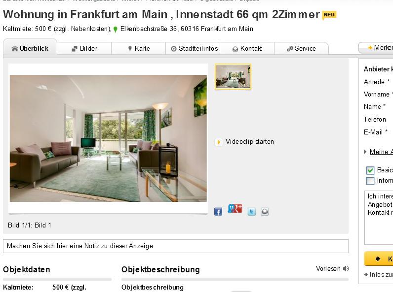 Möblierte 2 Zimmer Wohnung In München Ludwigsvorstadt Isarvorstadt