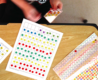 Rolling the dice and stickering to 100