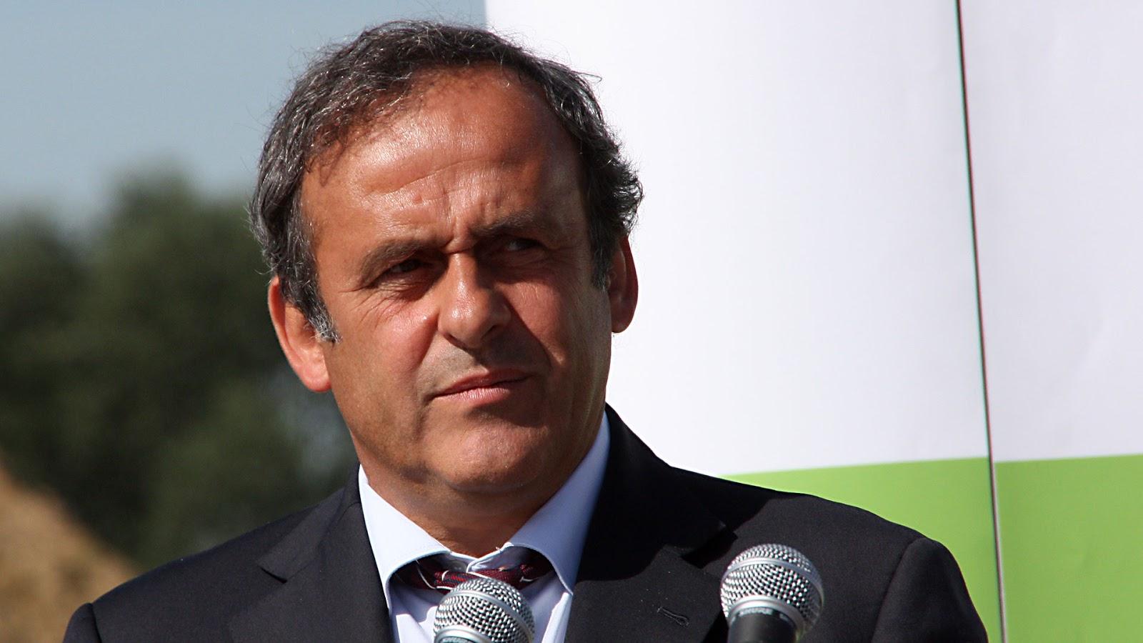 Michel Platini detenido