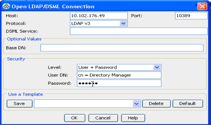 How to create a new user in Open DS LDAP server for Sybase Unwired