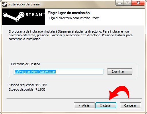 Descargar e Instalar STEAM para Dota 2
