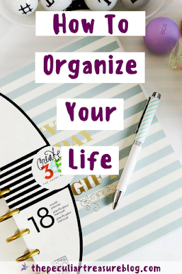 Organize Your Life (For the Super Disorganized Person) | #organize #schedule #plan