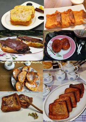 7 recetas de torrijas, postre típico de Semana Santa