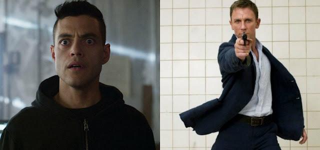 007 - Sem Tempo Para Morrer: Nova imagem mostra visual do vilão interpretado por Rami Malek