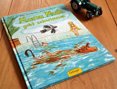 """""""Mama Muh geht schwimmen"""" von Jujja Wieslander und Sven Nordquist, Kinderbuch"""