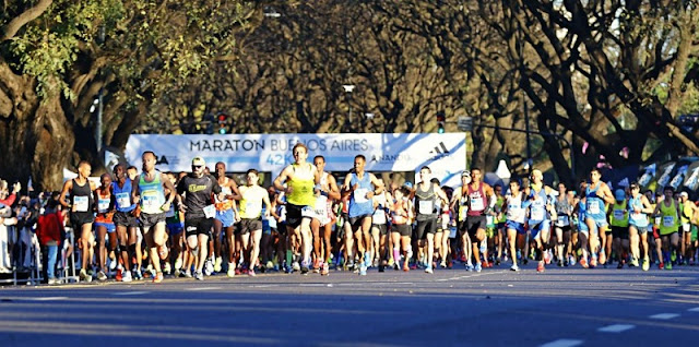Estrutura da Maratona de Buenos Aires