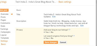 Blogger Ki Full Basic SEO Setting Kaise Kare : Blog Setup Guide