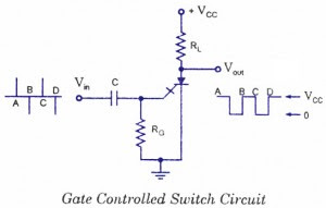Gate control switch (GCS) - Electronic Circuit Collection