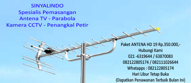 Siaran Piala Dunia # Harga Antena PANCORAN Jakarta 350Rb