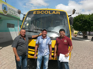 Educação de Baraúna recebe mais um Ônibus Escolar