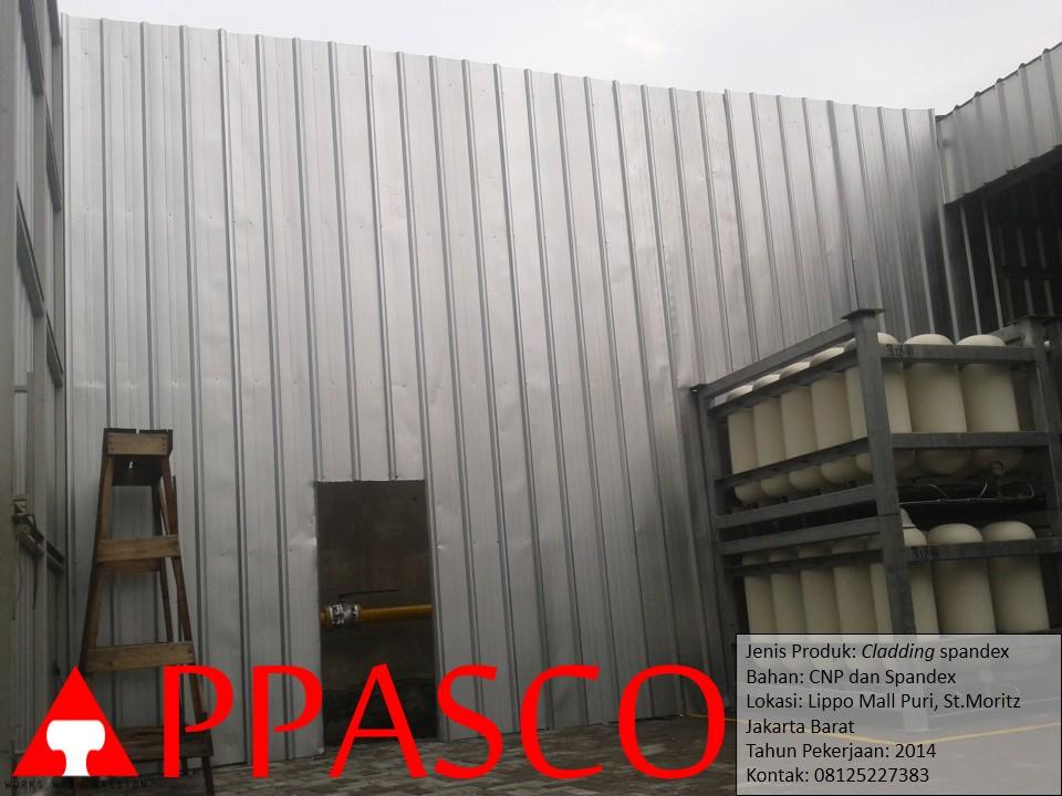 Cladding Spandex di Lippo Mall Puri