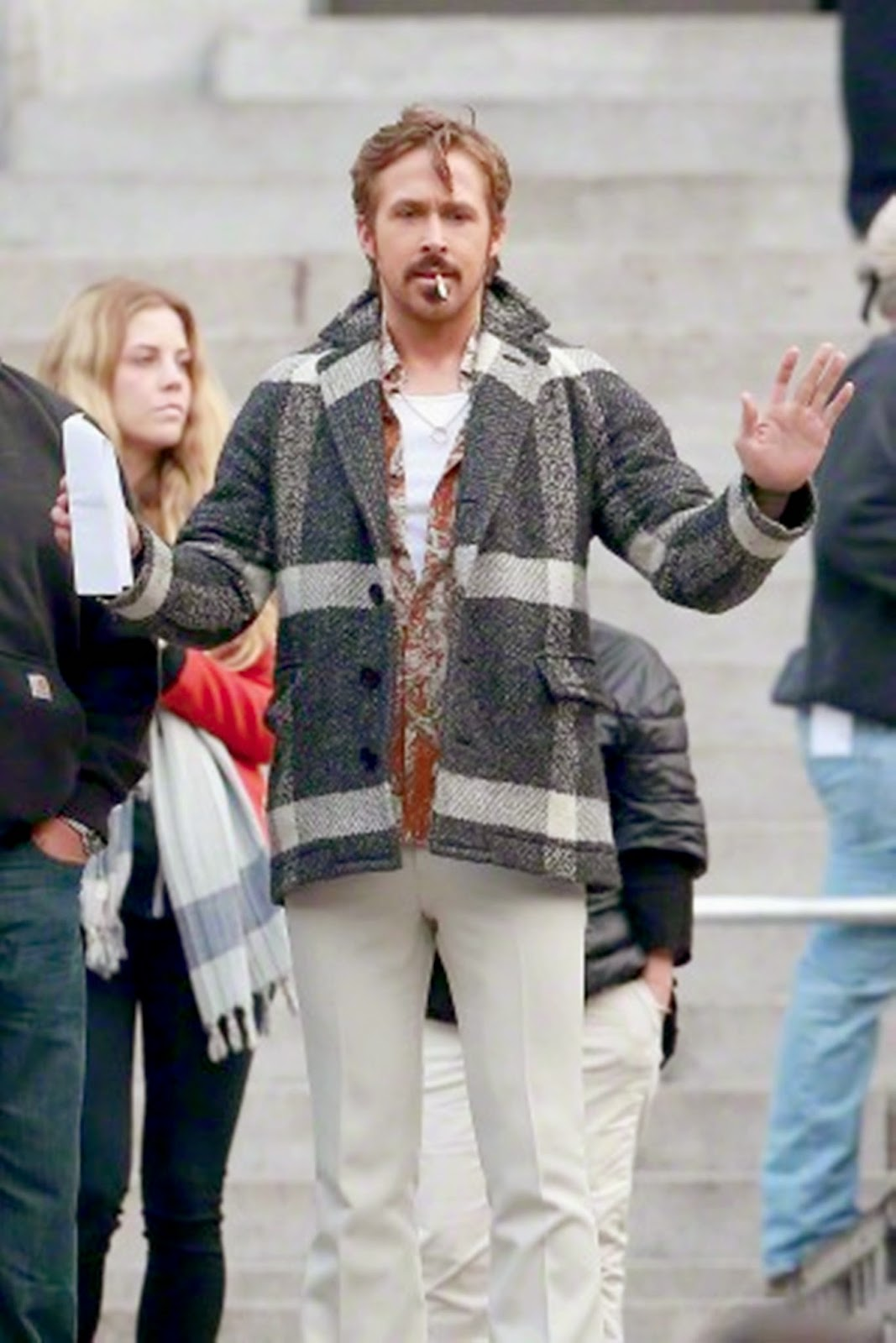The Nice Guys - On Set 21 Jan. 2015 - See the photos