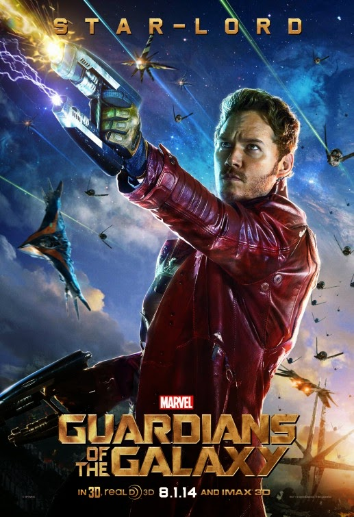 Guardians of the Galaxy Star-Lord movie poster