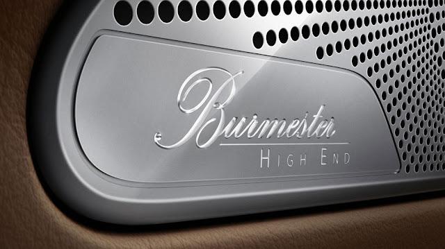 Mercedes S500 4MATIC Coupe sử dụng Hệ thống âm thanh vòm Burmester® High-End 3D, 24 loa