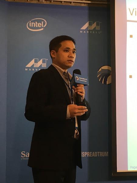 圖說:MobileBench Consortium(行動評測聯盟)主席Jeff. Lin指出,MobileBench比一般個人或營利公司開發的測試軟體更具公正性。(圖片來源:詹子嫻攝)