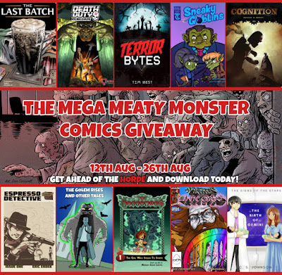 The Mega Meaty Monster Comics Giveaway!