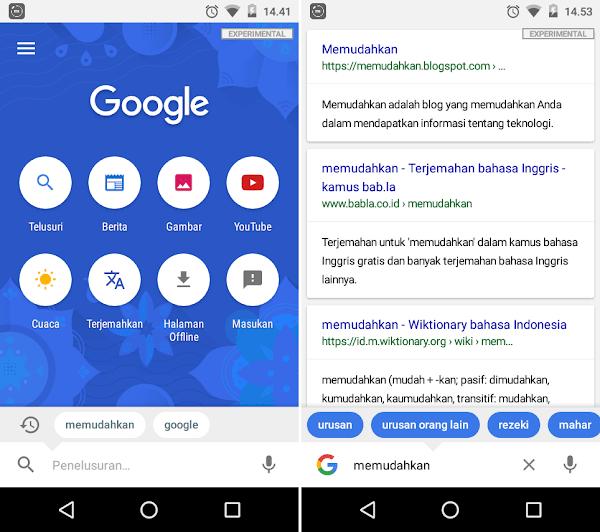 Search Memudahkan