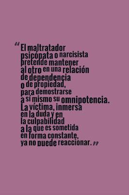 """El maltratador psicópata o narcisista"" - imagen"