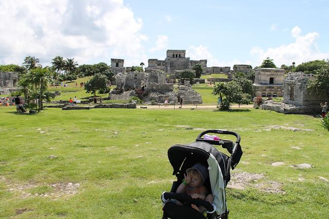 Meksikossa Inka rauniot