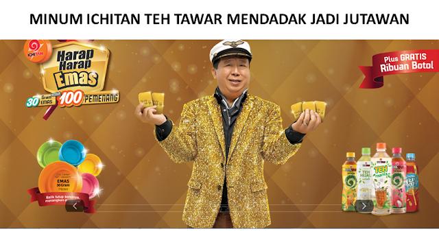 lomba 2017, kuis online 2017, kuis berhadiah emas, ichitan mendadak jadi jutawan