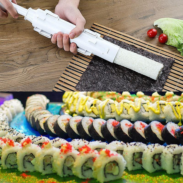 DIY Sushi Roll Bazooka Maker Tool