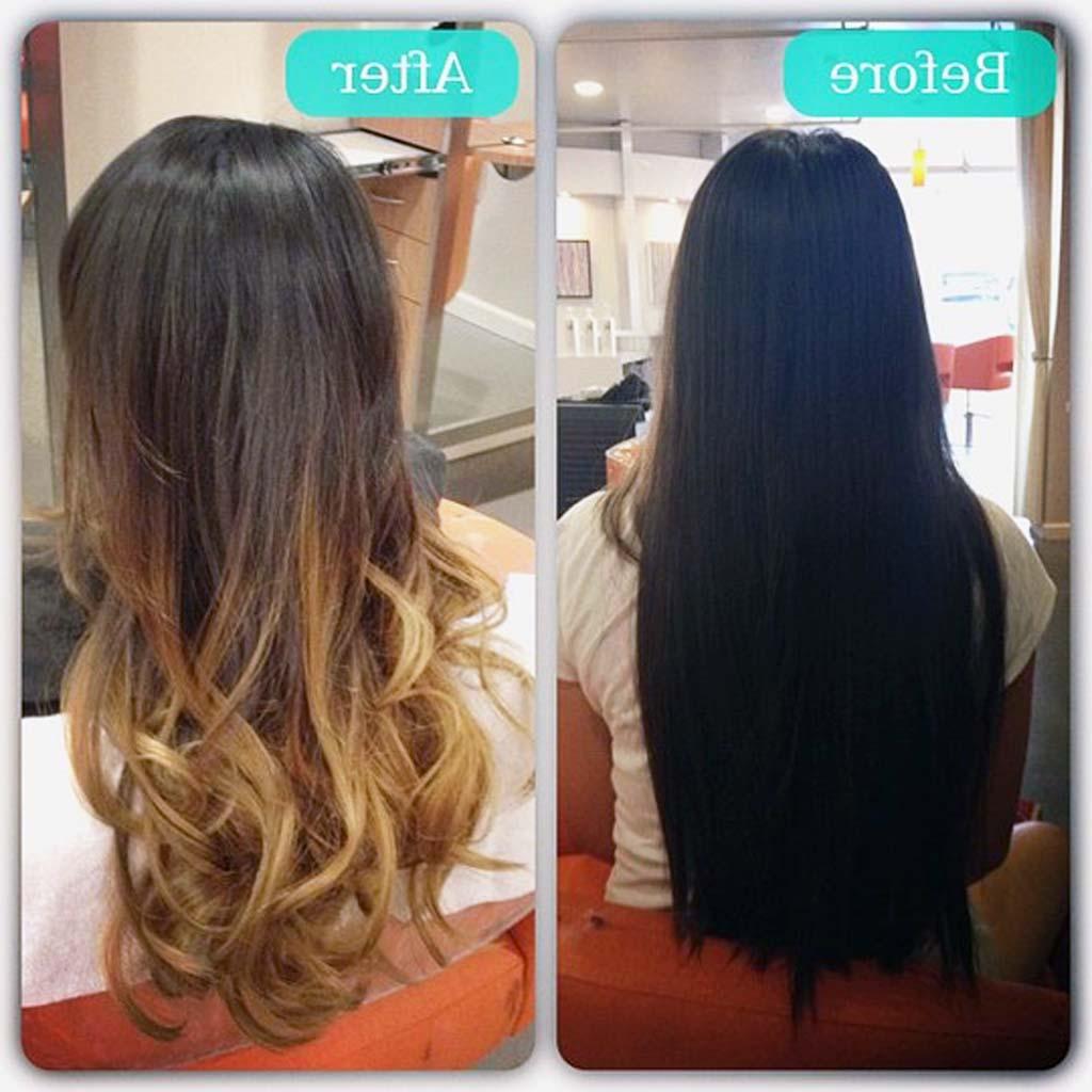 15 New Balayage Dark Hair Before After