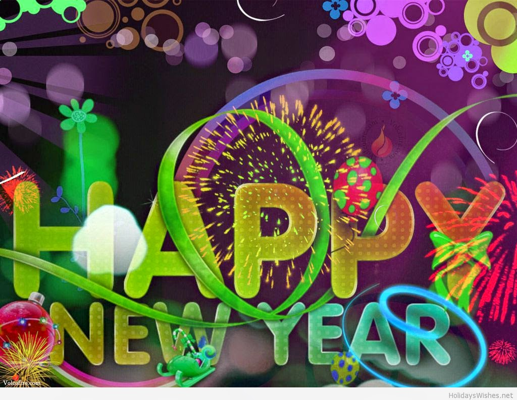 Happy New Year 2016 3D Images for Google Plus