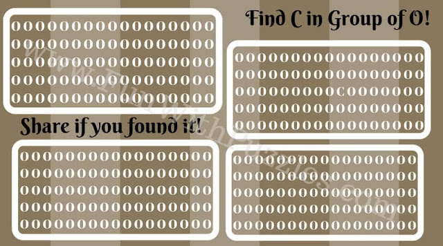 Find hidden letter C quick riddle