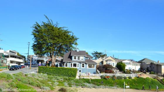Oceanview Homes in Santa Cruz CA