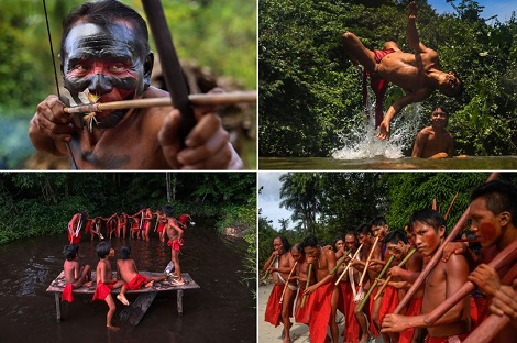 main Photos: The Lives Of Amazonian Waiapi Tribe As They Battle Against Extinction Lifestyle