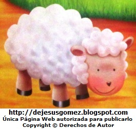 Dibujo de una oveja a color por Jesus Gómez