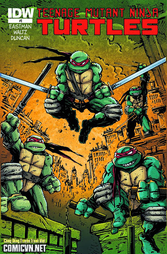 Teenage Mutant Ninja Turtles – Truyện tranh