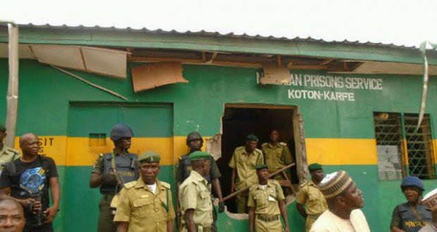 How inmates escaped from Kogi prison