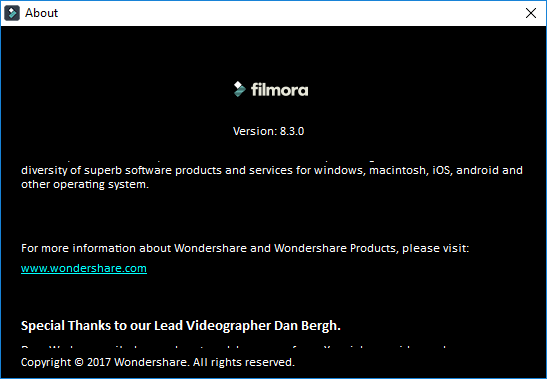 Wondershare Filmora 8.3.1 Crack