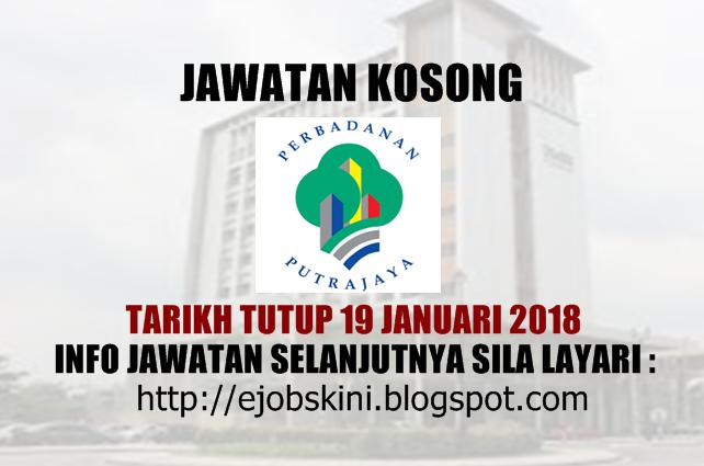 Jawatan Kosong Perbadanan Putrajaya Ppj 19 Januari 2018